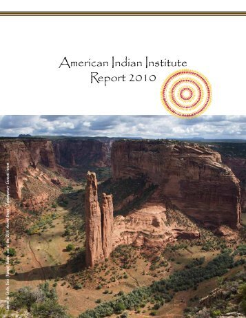 American Indian Institute Report 2010