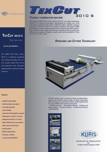 TexCuT 3010 S - MAMI SA