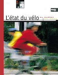 L'état du vélo - Vélo Québec