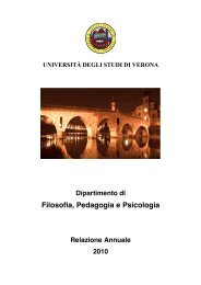 RELAZIONE (pdf, it, 29226 KB, 6/9/11) - Philosophy, Education and ...