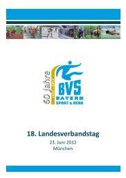 18. Landesverbandstag - Verlag Volker Herrmann Soziales Marketing