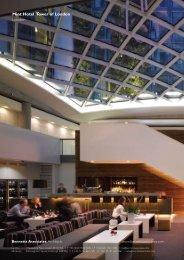 Mint Hotel Tower of London London - Bennetts Associates Architects