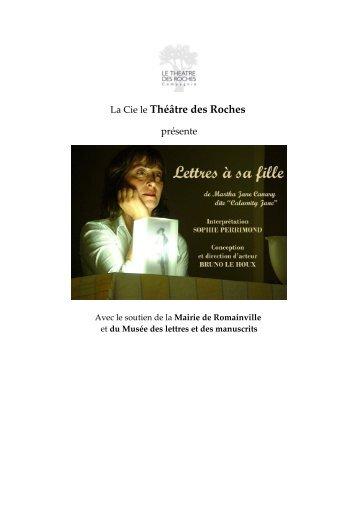 La Cie le Théâtre des Roches - revue-spectacles.com