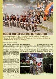 Räder rollen durchs Reitstadion - Birseck Magazin