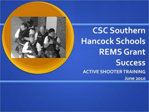 Active Shooter Drill Implementation - Readiness and Emergency ...