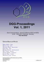 Entwicklung einer Methodik zur nicht-invasiven Online - DGG