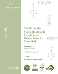 Bioetanol de cana-de-açúcar - CGEE
