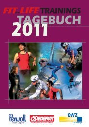 Download FIT for LIFE-Trainingstagebuch