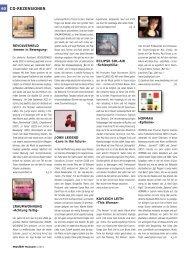 60 CD-REZENSIONEN - Musiker Online