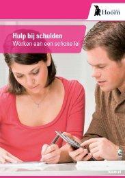 Hulp bij schulden - Gemeente Hoorn