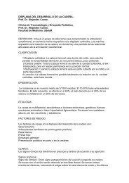 displasia del desarrollo de la cadera - Clínica de Traumatología y ...