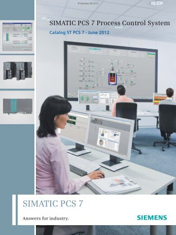 Catalog ST PCS 7, June 2012 - Siemens