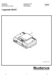 Logamatic R2101 - Buderus