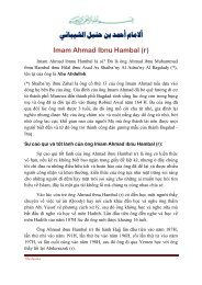 imam ahmad ibnu hambal - Chân Lý Islam