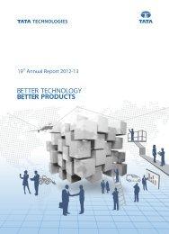 Annual Report 2012-13 - Tata Technologies