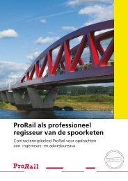 Contracteringsbeleid van ProRail voor ingenieursbureaus