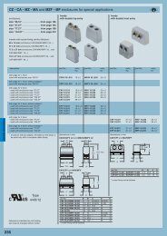 CZ - CA - MZ - MA and MZF - MF enclosures for special applications ...