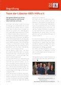 25 Jahre Lübecker AIDS-Hilfe e.V. - Page 3