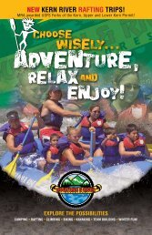 NEW KERN RIVER RAFTING TRIPS! - Mountain & River Adventures