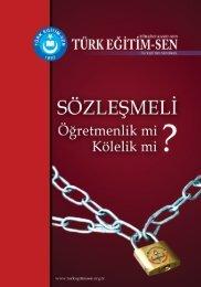 Kıymetli Eğitim Çalışanları - Türk Eğitim-Sen