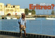 The Jews of Eritrea - Halachic Adventures
