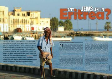 The Jews of Eritrea - Halachic Adventures