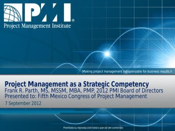 Project Management as a Strategic Competency