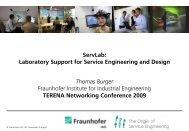 ServLab - TNC2009 - Terena