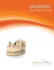 Internal Prosthetic Manual - BioHorizons
