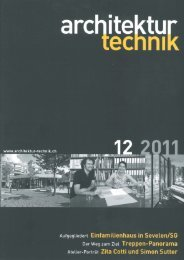 Architektur Technik, 12 2011