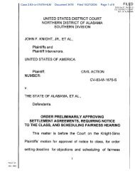 Case 2:83-cv-01676-HLM Document 3478 Filed 10/27/2006 Page 1 ...