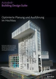 Autodesk Building Design Suite - AcadGraph CADstudio GmbH