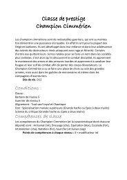 Champion cimmérienx