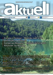 Energija iz biomase – Hrvatska nudi velike ... - AHK Kroatien