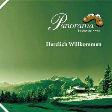 Hausprospekt - Berggasthof Panorama