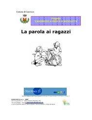 1) La parola ai ragazzi - Agenda 21 Est Ticino