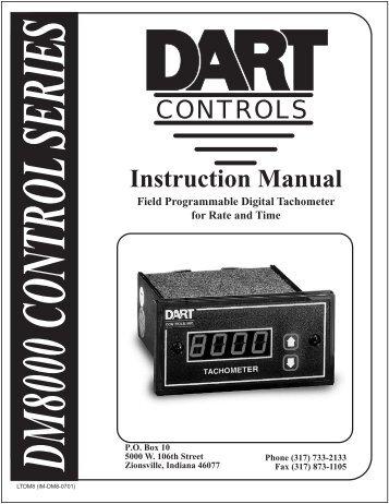 DM8000 Manual - Dart Controls