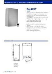 ECOFLAM caldaia ecosi EXT - Certificazione energetica edifici