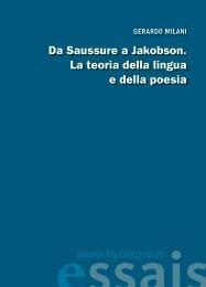 essais - Filosofia.it