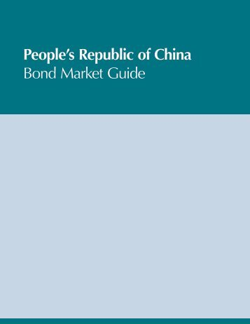 People's Republic of China Bond Market Guide - Personal File ...