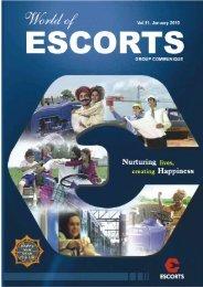 Vol. 11, January 2010 - Escorts Group