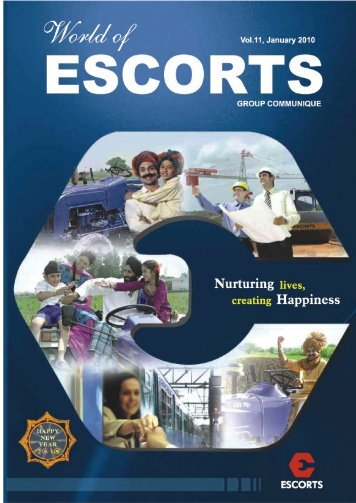 Vol. 11, January 2010 - Escorts Group