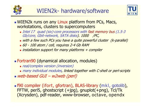 Fortran compiler ifort linux
