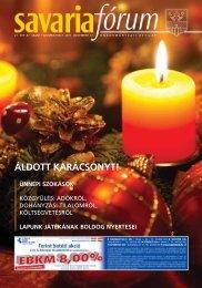 áldott karácsonyt! ünnepi szokások - Savaria Fórum