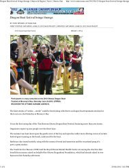 Dragon Boat festival brings throngs - Youth Services Bureau