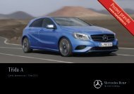 Ceník - Mercedes-Benz PRAHA