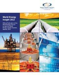 World Energy Insight 2012 - World Energy Council