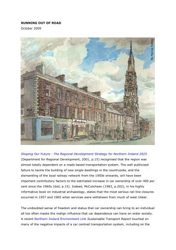 Running out of road - Ulster Architectural Heritage Society