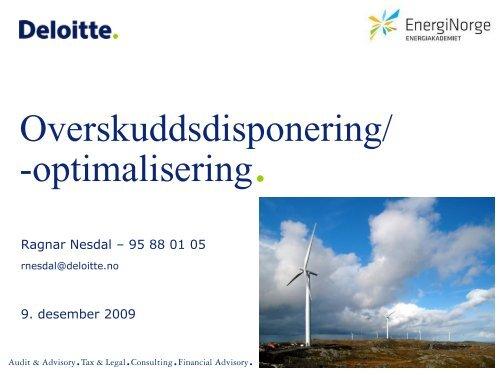 Deloitte template - Energi Norge