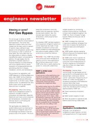 Trane Engineers Newsletter, volume 32-2